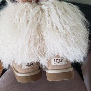 Ugg Mongolian fur winter boots Size #7